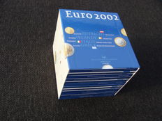 Europe - Year series 2002 of the Euro countries (12 variations).