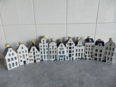 11 Houses made for KLM by Bols