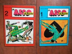 """Asso di Picche"" - issues nos. 1 and 2 - complete series (1969)"