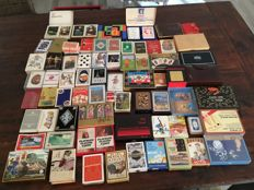 65 sets of special playing cards from around the world