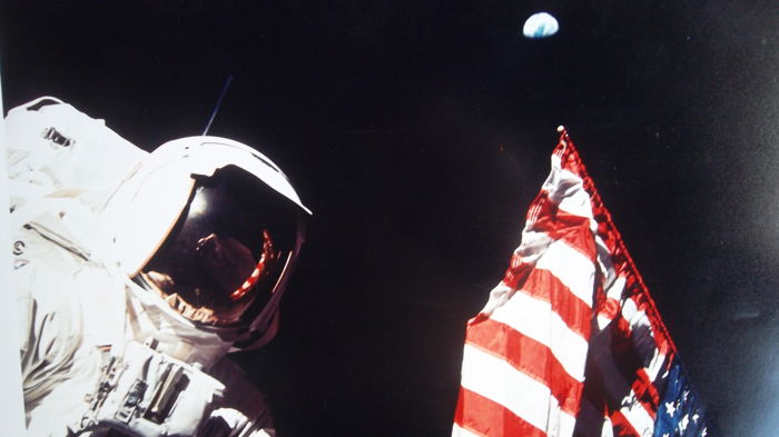 Twelfth and last man on the Moon (Apollo-17)