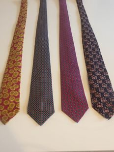 Hermes & Gucci ties