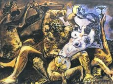 Pablo Picasso (after) - Bacchanal