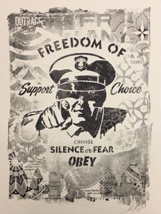 Shepard Fairey (OBEY) - Freedom of Choice Exhibition Print