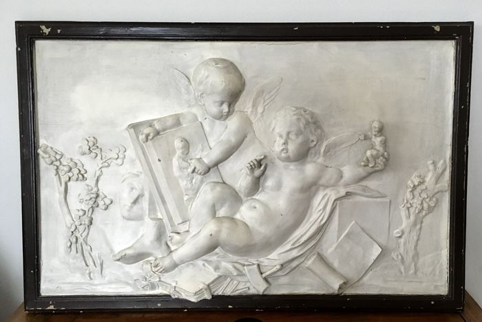 Decorative relief panel