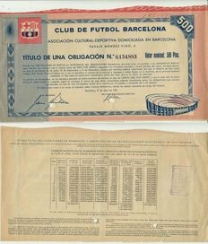 Barcelona Football Old Title
