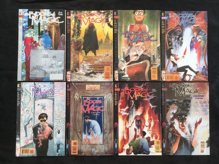 Books of Magic - DC Comics / Vertigo - Issues #1-46, 48-51, 53-59, 66-75 - X67 SC - 1st Printing - (1994/2000)