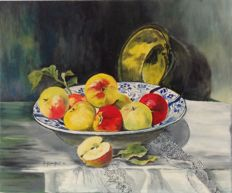 A. Vera GENNOT (20th century) - Fruits d'automne