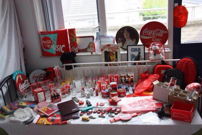 Large Coca Cola collection