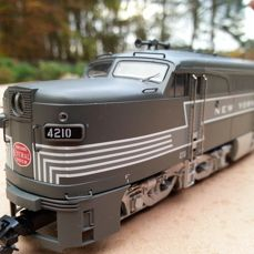 Märklin H0 - From set 29570 - Heavy diesel locomotive type Alco PA1 of New York Central