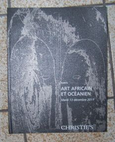 13 catalogues and publications of auctions of primitive art