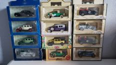 Various - Scale 1/43-176 - Lot with 18 models: 12 x Rolls-Royce, 4 x Silver car collection & 2 x Presidential car collection