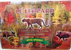 Coffret Special Chasse - Le Leopard - special box with 3 hunting knives