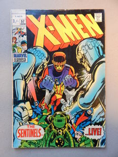 Marvel Comics - X-Men #57 - First Appearance of Alex Summers as Havok - 1x sc - (1969)