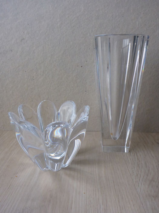 Orrefors Sweden Crystal Vase And Bowl Catawiki