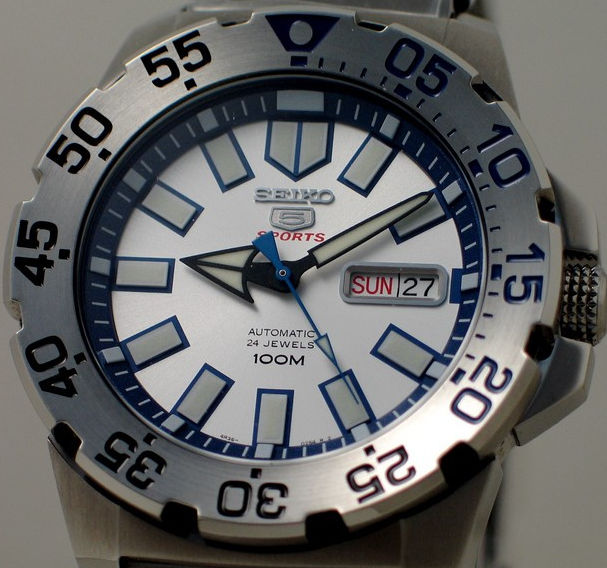 Seiko Automatico 24 Jewels - Nuovo - Uomo - Men's Automatic Watch