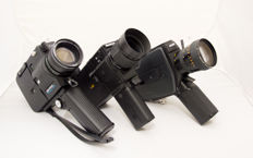 Lot van 3 super 8 camera's