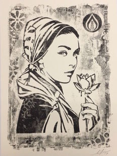 Shepard Fairey (OBEY) - Natural Springs Exhibition Print