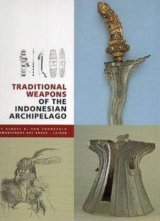 4 publications on Indonesian Weapons. 1998 - 2010