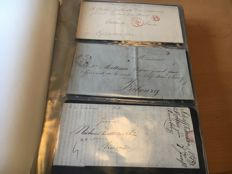 Switzerland 1800/1890 - 72 x Forerunner, voa Canton Fribourg and Canton Bern