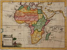Afrika; William Guthrie / Thomas Kitchin - Africa, from the best authorities. - 1770