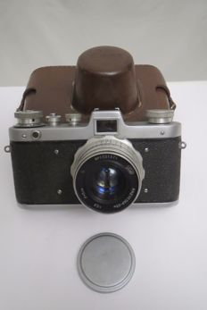 "Exclusive!!  Rare camera ""Zarya"".  The release of just two years. USSR 1959-1961 FED (Kharkov).With a native trunk."