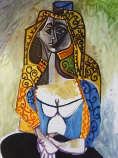 Pablo Picasso (after) - Turkish Shawl