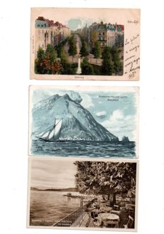 Europe: batch of 101 old and semi-modern postcards