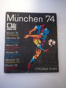 Panini - World Cup Munich 1974 - complete sticker album.