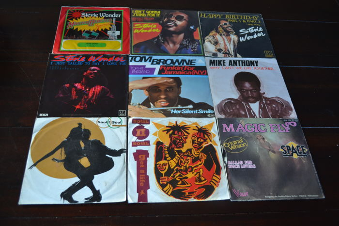 Funk and disco : 54 Singles from the eighties and a few from the seventies