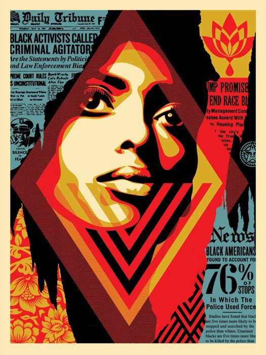 Shepard Fairey  - Bias