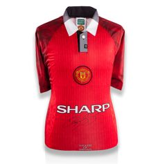 Ryan Giggs - Signed Manchester United 96/98 Theatre Of Dreams shirt + COA and Photoproof ICONS.