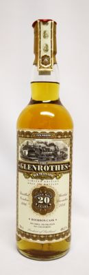 The Glenrothes 20 years old 49.1% abv. Limited Edition bottle no. 068 of only 390 bottles. 1996-2016