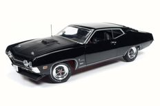Auto World - Scale 1/18 - Ford Torino Cobra 1970 - Black