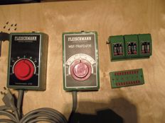 Fleischmann N - 6730/6735/6920/6940 - Transformer, MSF Transformer, 3x switch control and distributor plate