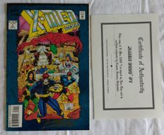 X-Men 2099 #1 Ron Lim Signed Marvel Comics nm/m 1992 with COA