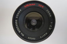 Lens Albinar ADG Macro 28mm F2.8 for Canon FD
