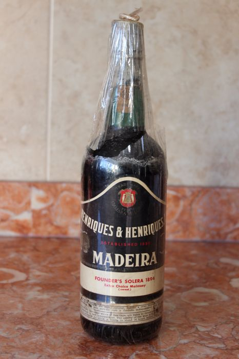 1894 Madeira Malmsey - Founder's Solera - Henriques & Henriques