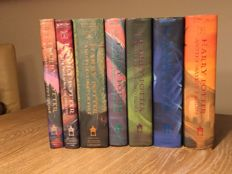J.K. Rowling - Harry Potter - 7 volumes - 1998/2007