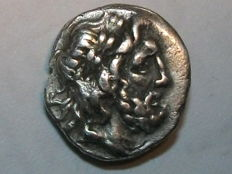Ancient Greece - Thessaly - Thessaly League - Hemidrachme AR (approx. 196-146 B C).
