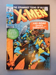 Marvel Comics - X-Men #70 - 1x sc - (1971)