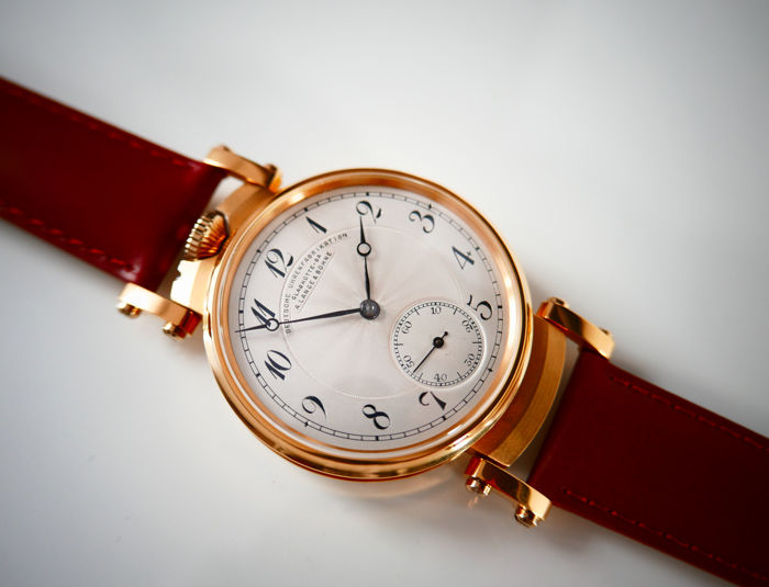 A. Lange & Söhne- Deutsche Uhrenfabrikation Glashutte - antique  1920