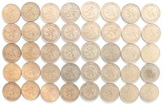 Netherlands - 2½ cent 1941 Wilhelmina (40 pieces) - bronze