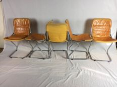 Manufacturer unknown - tubular frame design chairs