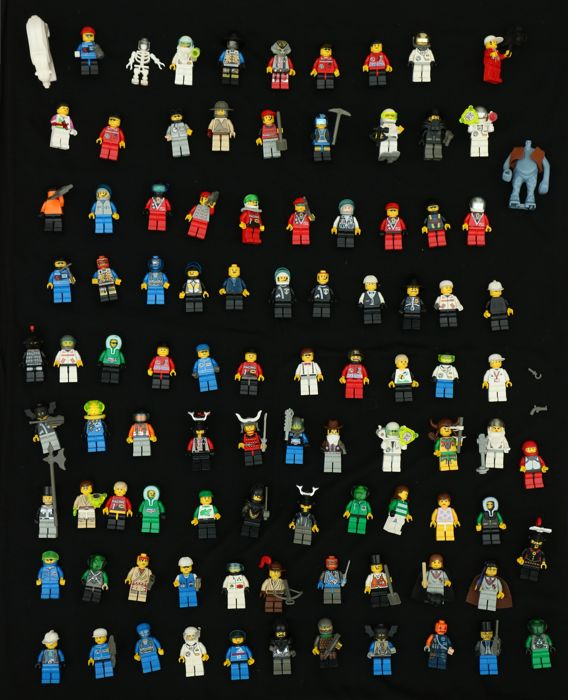 Lego Mini figures - 95 pieces