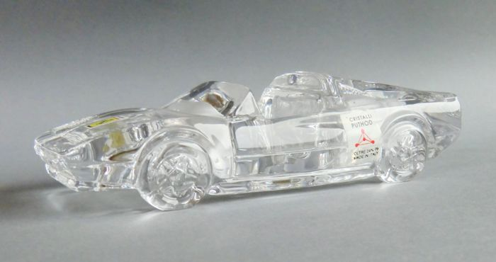 Crystal Ferrari 328 GTS - brand Puthot made in Italy - 17 cm length