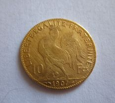 France - 10 francs - 1907 -