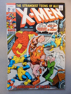 Marvel Comics - X-Men #67 - 1x sc - (1970)