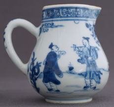 Flagon with many figures and animals - China - circa 1680, Kangxi era (1662-1722)