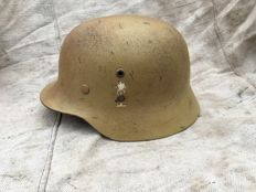 WW2 German Helmet M35 DAK